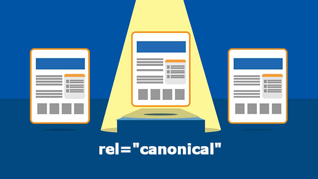 "Thẻ rel = ""canonical"""
