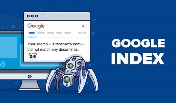 Trang web bị index