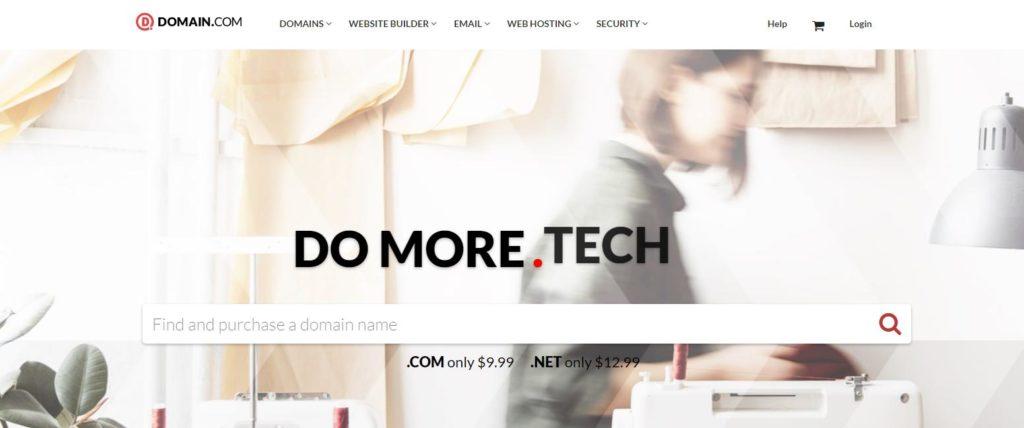 Trình tạo tên miền Domain.com